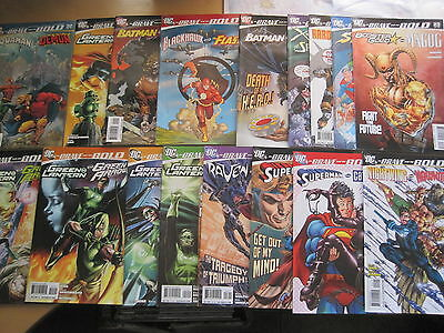 BRAVE & the BOLD : COMPLETE 35 ISSUE DC 2008 SERIES by WAID,PEREZ etc. Flash, GL