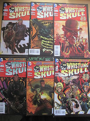 JSA Liberty Files : The Whistling Skull : complete 6 issue series.DC NEW 52.2013