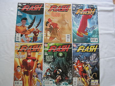 The FLASH 231-236 : The WILD WESTS :COMPLETE 6 ISSUE STORY. VARIANT 231. DC.2007