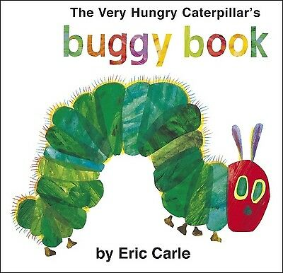 The Very Hungry Caterpillar's buggy book by Eric Carle (Board book) Great Value