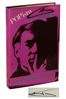 POPism ~ SIGNED by ANDY WARHOL 2X ~ First Edition 2nd Print 1980 ~ Pop Art