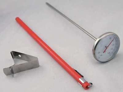 Dial Pocket Thermometer,-40 to 160 F ZORO SELECT 23NU25