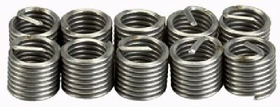Industrial Quality 10PCE M5x0.8 Helicoil Type Thread Repair Inserts