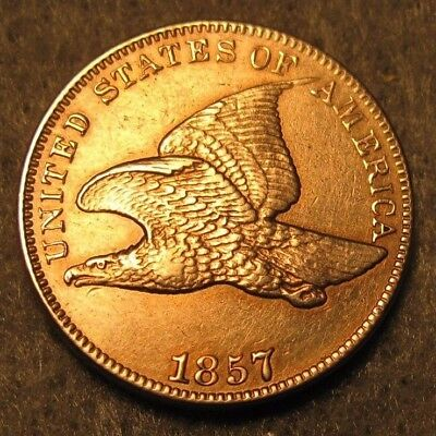 1857 Flying Eagle Penny * US Coin *