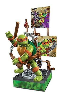 Mega Bloks - Teenage Mutant Ninja Turtles Sammelfiguren -Michelangelo Nikelodeon