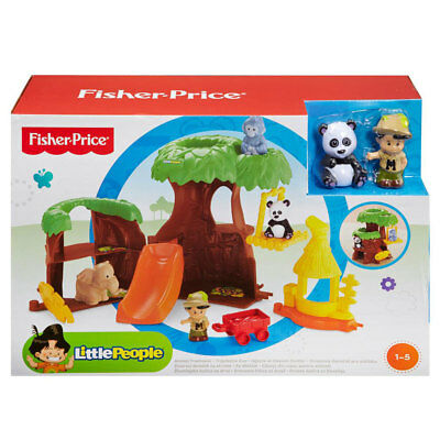 Mattel Fisher-Price - Little People Zoo Tier-Baumhaus Ab 12 Monate