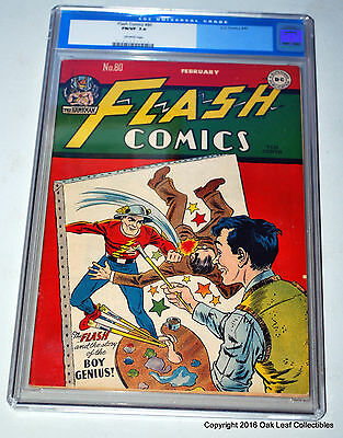Flash 80  DC Comics 1947  CGC Graded 7.0 - Blue Label