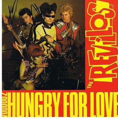 The Revillos Hungry For Love Vinyl Single 7inch Dindisc