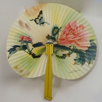 Vintage Fan with Tin Handle China