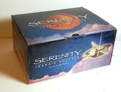Vintage Firefly/Serenity Inara's Shuttle Limited Edition Ornament from QMX-Boxed