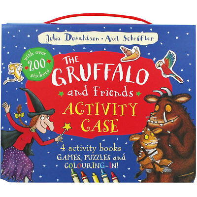 The Gruffalo and Friends Activity Case (Paperback), Children's Books, Brand New