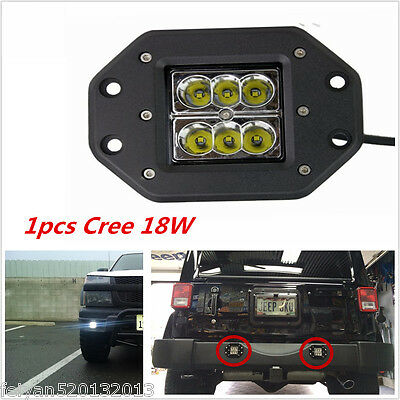 1pcs 5inch 18W Cree LED Work Light Bar 4WD Offroad Spot Fog ATV SUV Driving Lamp