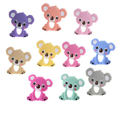 Safety Food Grade Silicone koala Baby Teething Chew Teether Grind Baby Teeth Toy