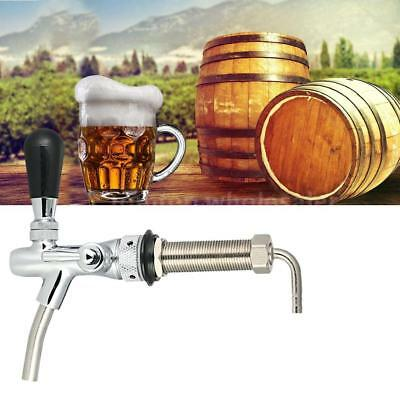 Draft Beer Faucet Tap G5/8 Shank Long Stem Brew Adjustable Flow Control B5N1