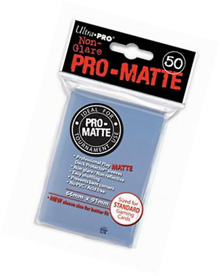 Ultra Pro SLEEVES Pro-Matte D12 Card Game (Clear)