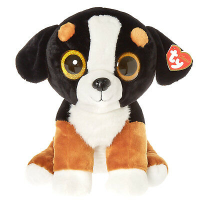 Ty beanie Boo's Roscoe Dog New with Tags -  Large 15''