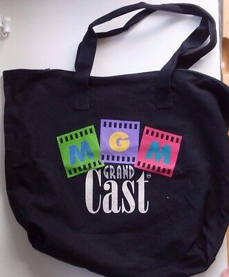 "Vintage LAS VEGAS Casino MGM GRAND ""CAST"" / Employee Tote Bag ""Original Cast"""