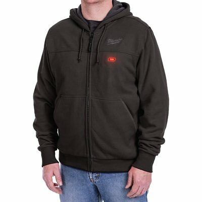 Milwaukee Black Heated Hoodie Thermal Lining with Pockets (Hoodie-Only) 2XL