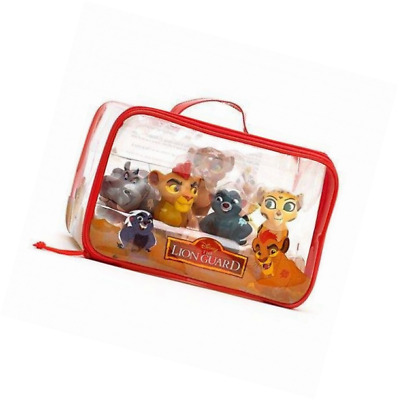 New Disney Store The Lion Guard Childrens Bath Toy Figures Set of 6