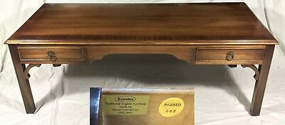 Mahogany Reprodux Table Lamp Stand Occasional Coffee Table