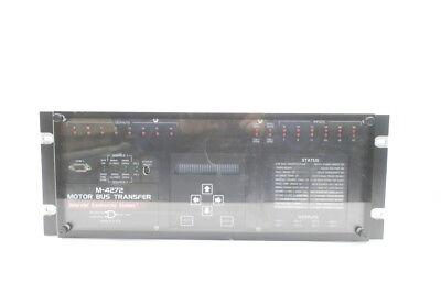 Beckwith M-4272-6Ab1Eh0 Integrated Synchronizing System Motor Bus D586878