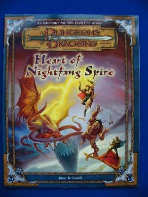 Heart Of Nightfang Spire Dungeons And Dragons Adventure NEW