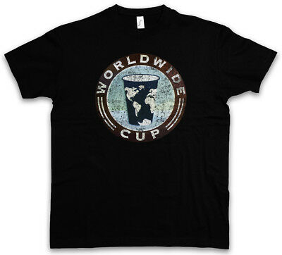 cfd457494 WORLDWIDE CUP T-SHIRT - Shameless Frank Gallagher Coffee Shop Cafe Sizes S  - 5XL