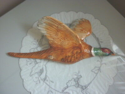 Beswick Gloss Large Pheasant Wall Plaque - 661/1