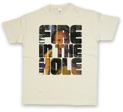 FIRE IN THE HOLE BOYD CROWDER T-SHIRT - Raylan Marshall Givens Justified Series