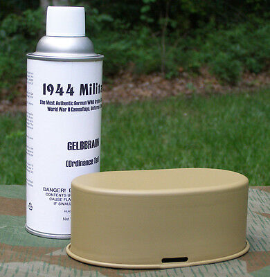 German WWII GELBBRAUN (Ordinance Tan) SPRAY PAINT For Vehicles Or Equipment