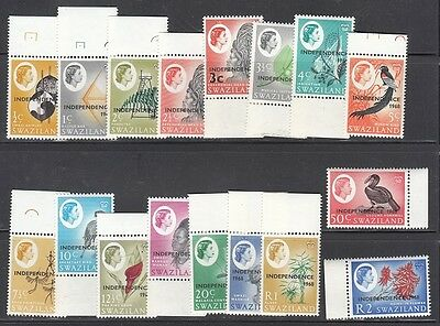 Swaziland Scott 143-59 Mint NH (Catalog Value $36.00)