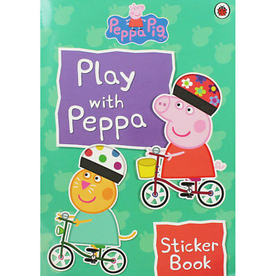 Play With Peppa Sticker Book by Ladybird (Paperback), Children's Books, New