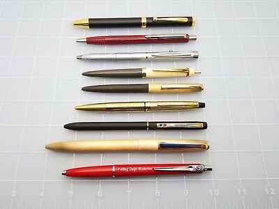 Judd's Lot of Vintage Ballpoint Pens - All Need New Refills