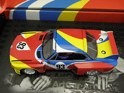 Fly  96048 Slot Car BMW CSL 24h Le Mans 1975 No. 93 in Sammelbox M.1:32