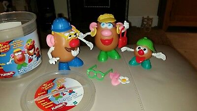 Mr Potato Head Playskool With Tub ( 3 bodies)