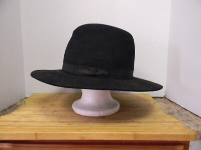 """hero"" Donald Sutherland Black Hat Worn In The Hit Western ""forsaken""!"