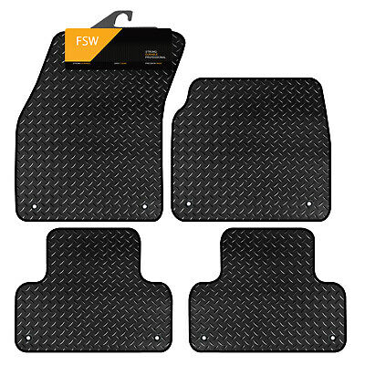 LAND ROVER RANGE ROVER VOGUE 02-12  HEAVY DUTY RUBBER FLOOR MATS 5 PIECE Car Parts