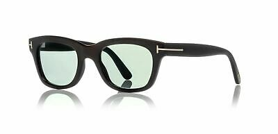 d479f017f01 Authentic Tom Ford Tom N.5 63N Private Collection Black Horn Sunglasses