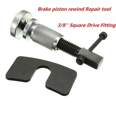 "Brake Piston Rewind Tool Right Handed Thread 3/8"" Drive Dual Pin Head Calipers"