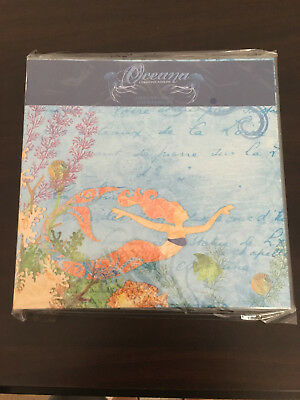 "Creative Imaginations Oceana 8"" x 8"" Album with Pre-designed Pages- Discontinued"
