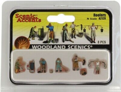 Woodland Scenics A2128 N Scale Roofers