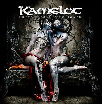 KAMELOT - POETRY FOR THE POISONED CD  (brand new)