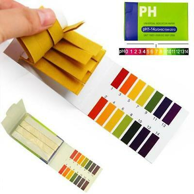 400 pH 1-14 Universal Full Range Litmus Test Paper Strips Tester Indicator Urine