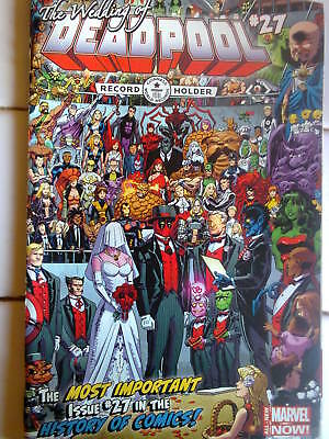 Marvel. Deadpool #27, June 2014: The Wedding of Deadpool. 96 PAGES