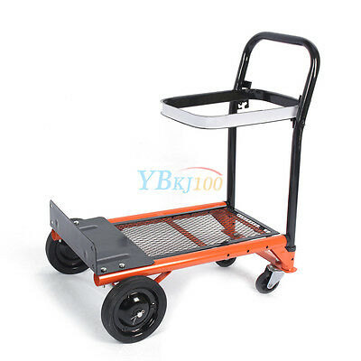 Folding Garden Pull Trolley Cart CarrierTransport Outdoor Barrow UK