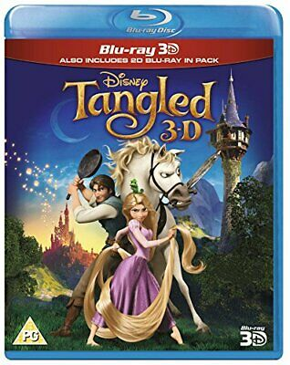 Tangled (Blu-ray 3D + Blu-ray) [Region Free] -  CD 3IVG The Fast Free Shipping