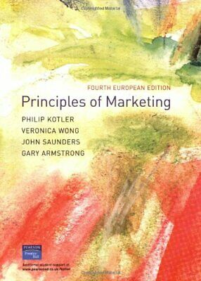 Principles of Marketing: European Edition by Armstrong, Gary Paperback Book The