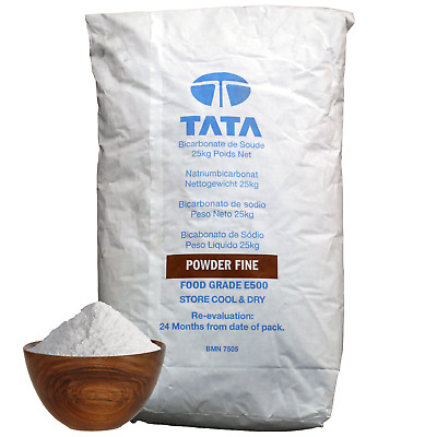 SODIUM BICARBONATE of Soda | 25KG BAG | 100% BP/Food Grade | Bath, Baking