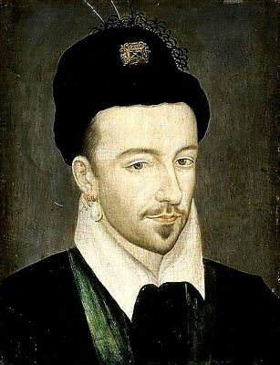 King Henry III of France 1578 House of Valois, 7x5 Inch Print
