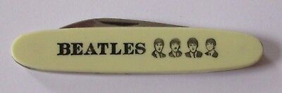 THE BEATLES. ORIGINAL VINTAGE 1960's  PLASTIC METAL NOVELTY. TAYLORS CUTLERY